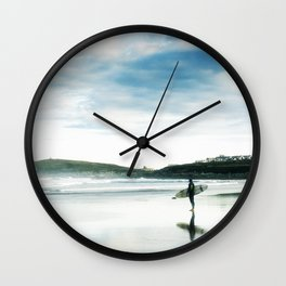Fistral Surfer Wall Clock