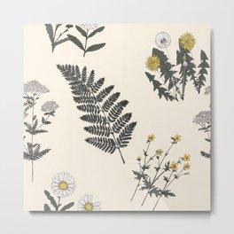 Botany .01 Metal Print
