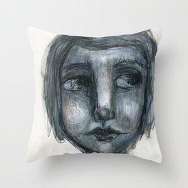 Self Portrait 01 Throw Pillow