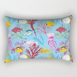 Coral Reef - All Together Water Rectangular Pillow