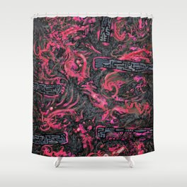 Psyesquivel 02 intestinalstone Shower Curtain