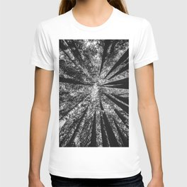 Up Above (Black and White) T-shirt
