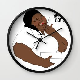 Gabby Giggle Wall Clock