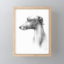 Delicate Framed Mini Art Print