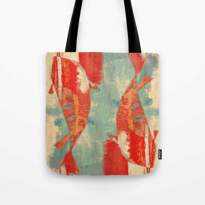 穏やかな海で泳ぐ (Swimming in Calm Waters) Tote Bag