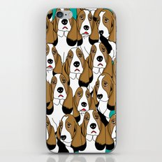 cute dogs iPhone & iPod Skin