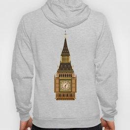 Big Ben Clock Face Hoody