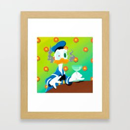 Donald Duck Framed Art Print