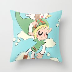 HYRULE FLYGHT CLUB  Throw Pillow