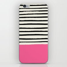 Watermelon & Stripes iPhone Skin