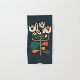 Retro botany Hand & Bath Towel