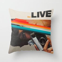 beLive Throw Pillow