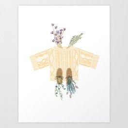 Knit Sweater Art Print