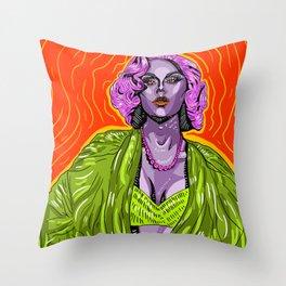 Farrah Moan 2 Throw Pillow