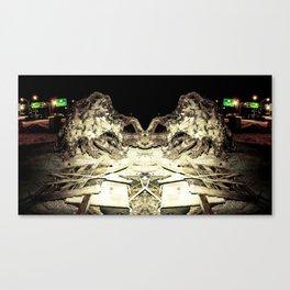 Under Cuntstruction Canvas Print