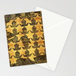shiny old stars Stationery Cards