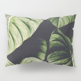 Monstera - Tropical Forest - nature photography Pillow Sham