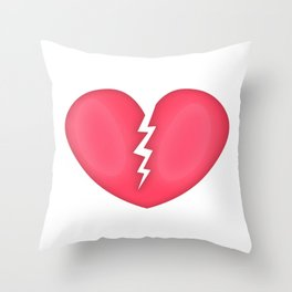 Lightening love Throw Pillow