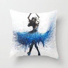Evening Sonata Throw Pillow