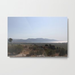 Akyaka to the Bay Of Gokova Metal Print
