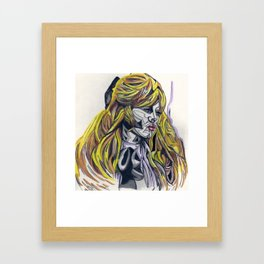 B.Bardot Framed Art Print