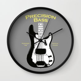 The Precision Bass 1958 Wall Clock
