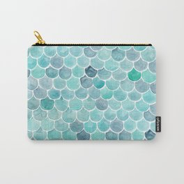 watercolor blue squama cells Carry-All Pouch