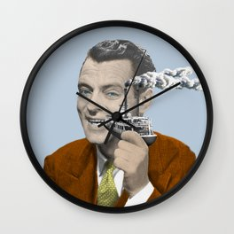 My uncle smoked a boat Wall Clock