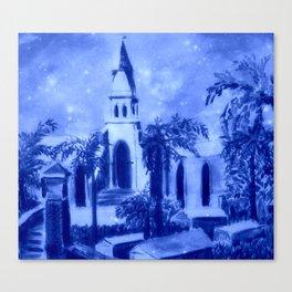 Holy Trinity Church, Bermuda Canvas Print