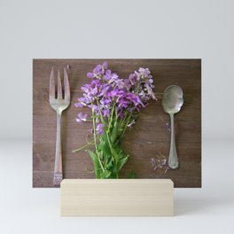 Wildflower Dinner Mini Art Print