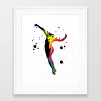 body Framed Art Prints featuring Body by Svitlana M
