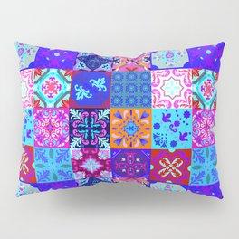 Bohemian Jungle Quilt Tiles 2 Pillow Sham