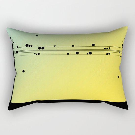 Digital Cords Rectangular Pillow