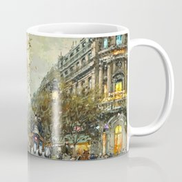 Paris, Autumn Cityscape by Antoine Blanchard Coffee Mug