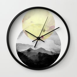 landscape montain nature Wall Clock