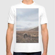 Iceland I Mens Fitted Tee White LARGE