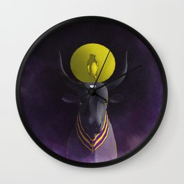 Apis Bull - God of Egypt Wall Clock