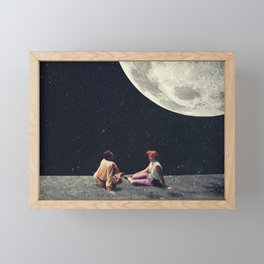 I Gave You the Moon for a Smile Framed Mini Art Print
