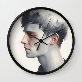 Small watercolor 11 Wall Clock