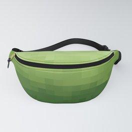 Gradient Pixel Green Fanny Pack