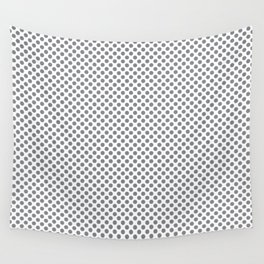 Sharkskin Polka Dots Wall Tapestry