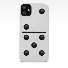 White Domino / Domino Blanco iPhone Case