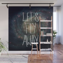Let's Fly Away (come on, darling) Wall Mural