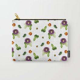 Bloomin' Heck Brunette Carry-All Pouch