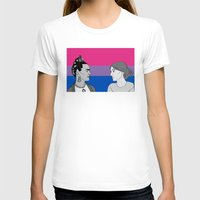 bisexual T-shirts featuring Bisexual Pride by Grace Teaney Art