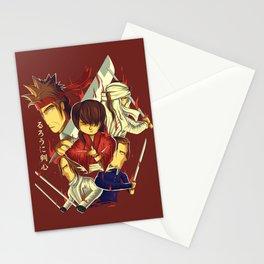 rurouni kenshin Stationery Cards
