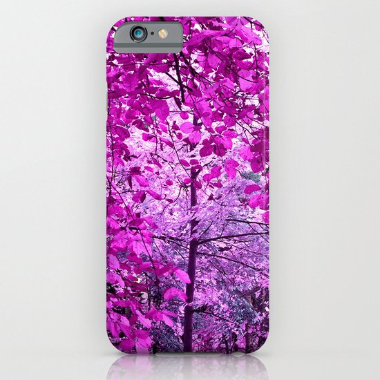 purple forest II iPhone & iPod Case