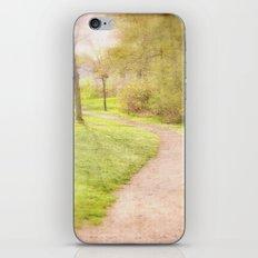 Winding Pathway iPhone & iPod Skin