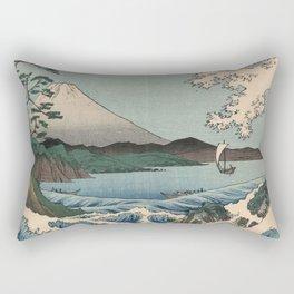 The Sea of Satta Rectangular Pillow