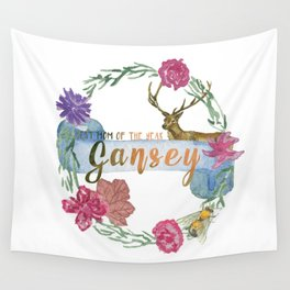 """""""Gansey - Best Mom of The Year"""" The Raven Cycle Inspired Wall Tapestry"""
